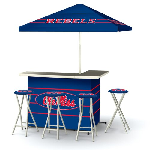 5 Piece Ole Miss Bar Set