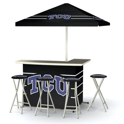5 Piece Texas Christian University Bar Set