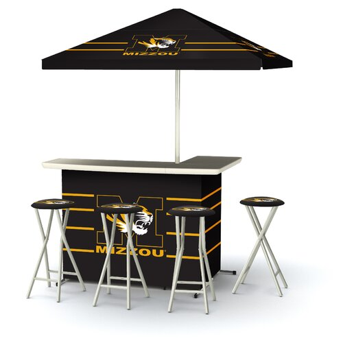 5 Piece Missouri Tigers Bar Set