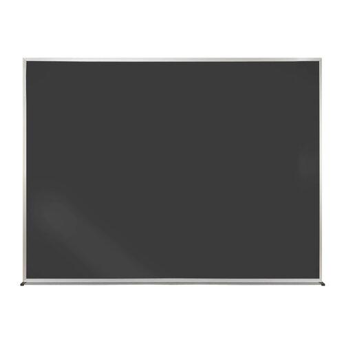Ghent Duroslate Black Chalkboard with Aluminum Frame