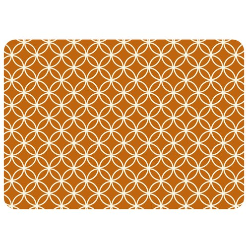 Bungalow Flooring Circle Bloom Decorative Mat