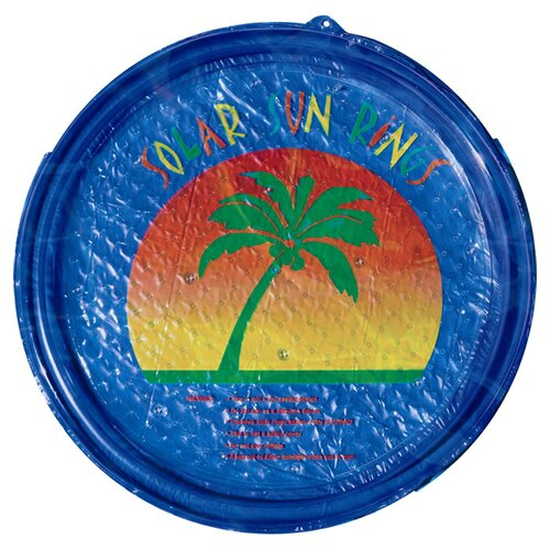 Sun Ring Palm Tree Round Solar Cover
