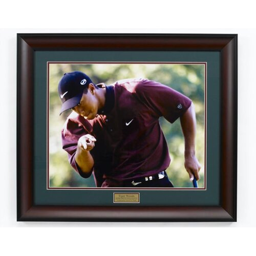 """Golf Gifts & Gallery """"Tiger"""" Framed Photographic Print"""