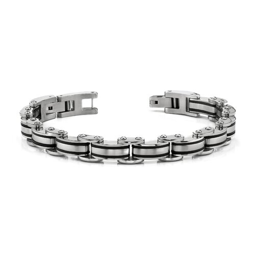 Heavy Duty Mens Stainless Steel Link Bracelet
