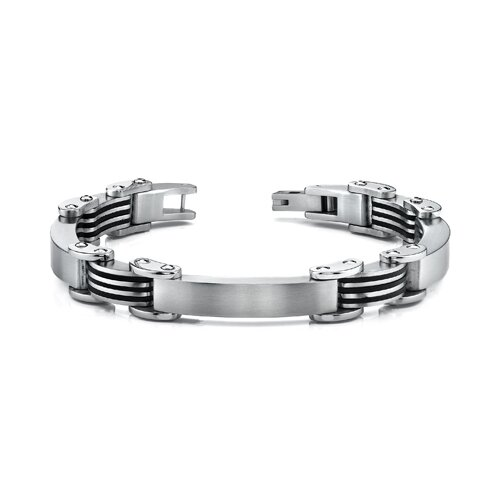 European Style Rugged Mens Stainless Steel Bracelet