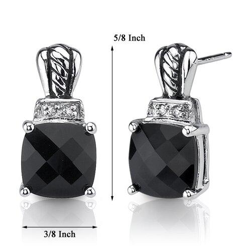 Oravo Regal Beauty Stud Post Earrings in Sterling Silver