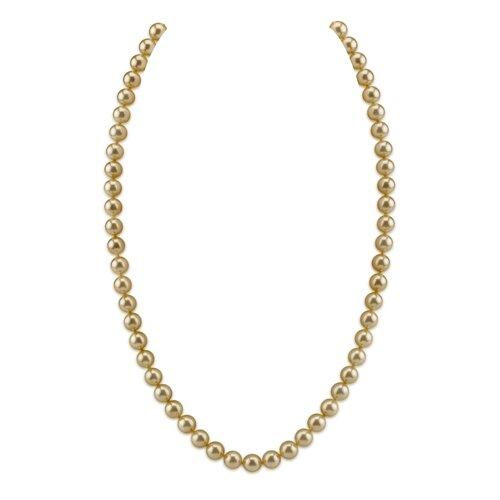 Oravo Single Strand 7 mm Off White Round Majorca Cultured Pearl 27 inch Necklace