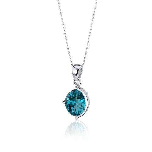 Oravo Museum Design 5.25 Carats Marquise Cut Sterling Silver London Blue Topaz Pendant Earrings Set