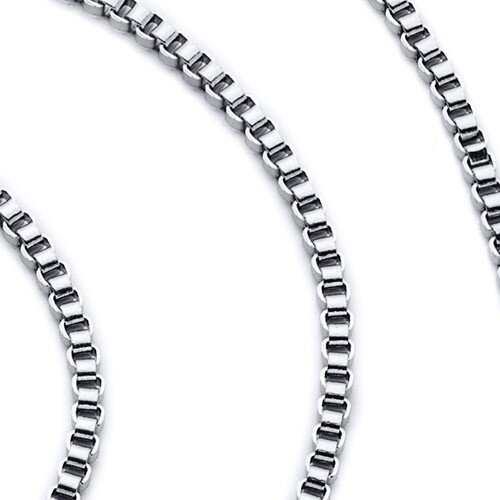 3mm Stainless Steel Box Chain Necklace