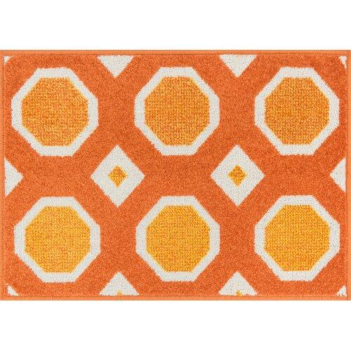 Terrace Orange/Ivory Outdoor Rug