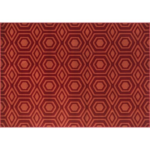 Goodwin Red Rust Rug