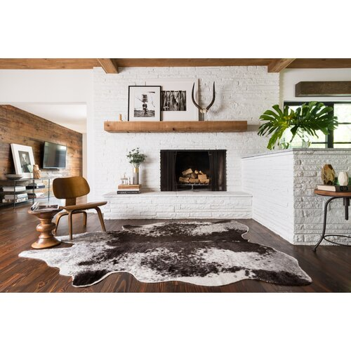 Loloi Rugs Grand Canyon Ivory Amp Charcoal Animal Print Area