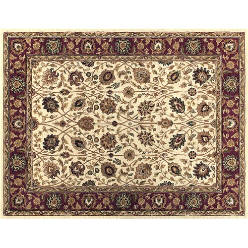 Loloi Rugs Maple Ivory / Red Rug