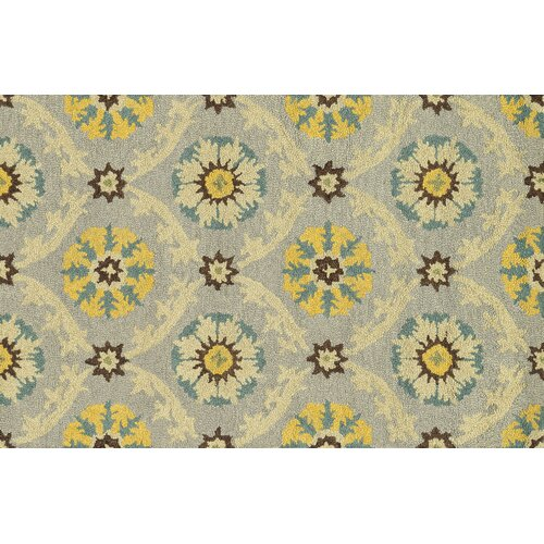 Yellow Grey Rug Wayfair