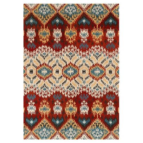 Loloi Rugs Leyda Red / Multi Colored Rug