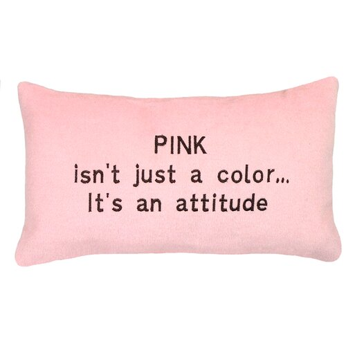 123 Creations Attitude…Cashmere Blend Pillow