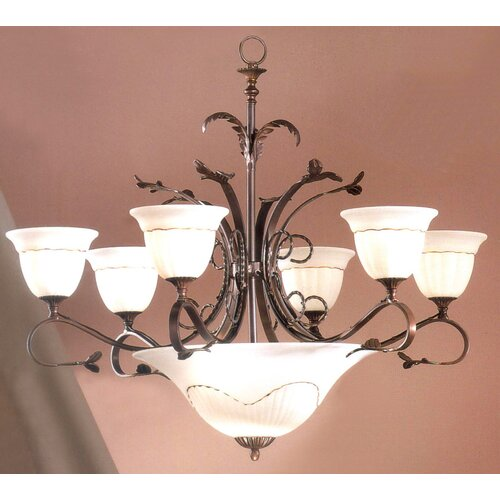 Classic Lighting Treviso 9 Light Chandelier