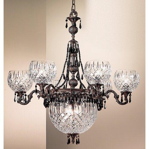 Classic Lighting Waterbury 9 Light Chandelier