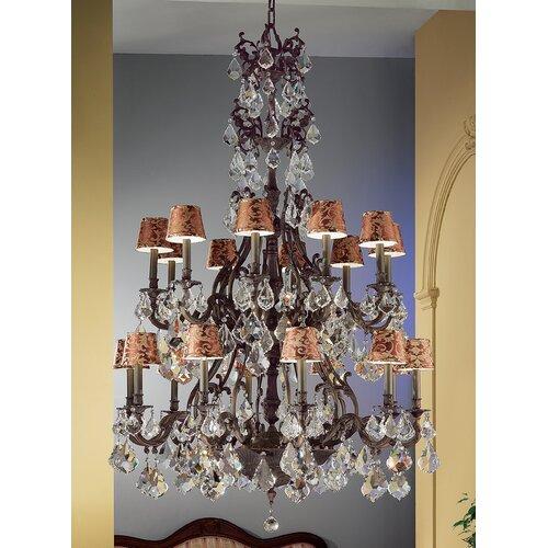 Classic Lighting Majestic 20 Light Chandelier