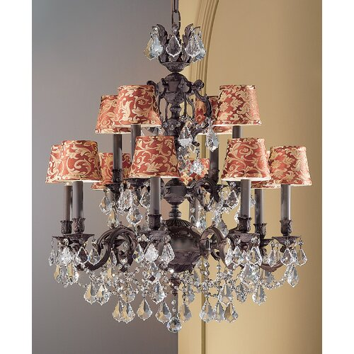 Classic Lighting Chateau Imperial 12 Light Chandelier