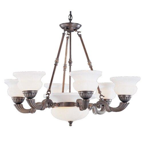 Classic Lighting Barrington 2 Light Chandelier