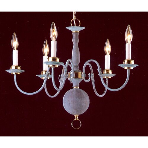 Classic Willaimsburgs 5 Light Chandelier