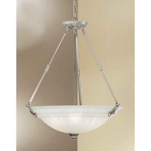 Classic Lighting Yorkshire II 6 Light Inverted Pendant