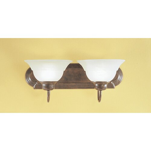 Classic Lighting Glendale 2 Light Bath Vanity Light