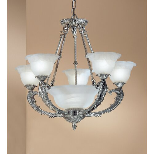 Victorian II 6 Light Chandelier