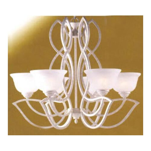 Classic Lighting 6 Light Chandelier