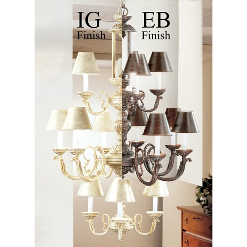 Classic Lighting Innsbrook 12 Light Chandelier