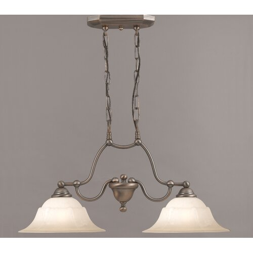 Classic Lighting Providence 2 Light Island-Billiard Light