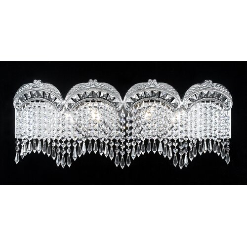 Classic Lighting Emily 4 Light Bath Vanity Light