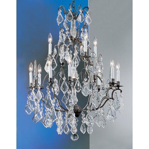 Classic Lighting Versailles 13 Light Chandelier