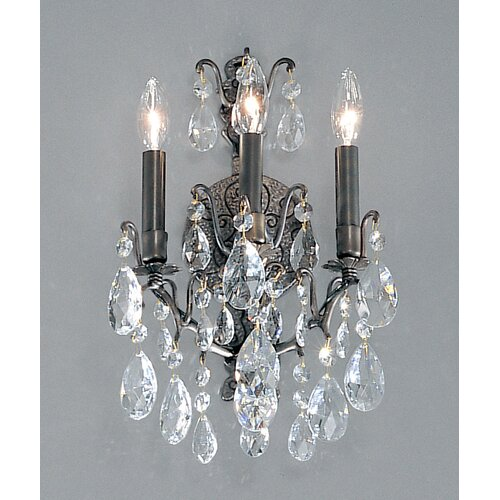 Classic Lighting Versailles 3 Light Wall Sconce