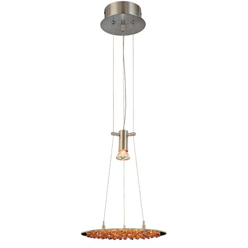 Classic Lighting Crystal Lake 1 Light Pendant