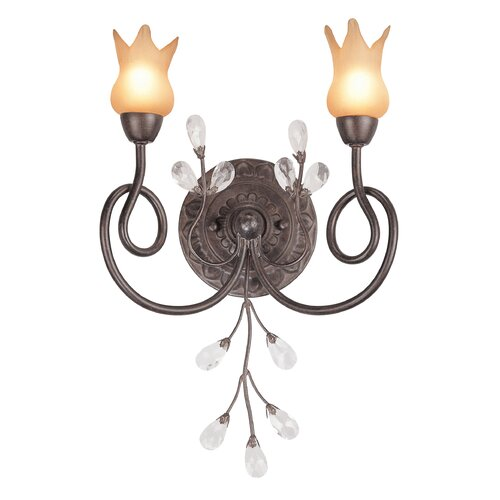 Classic Lighting Mandarin 2 Light Wall Sconce
