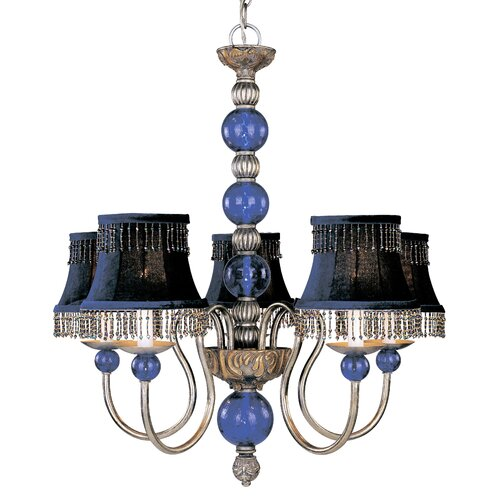 Classic Lighting Caprice 5 Light Chandelier