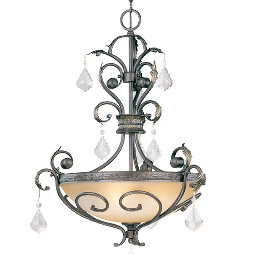 Avalon 3 Light Inverted Pendant