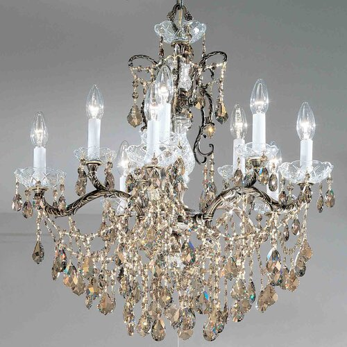 Madrid Imperial 10 Light Chandelier