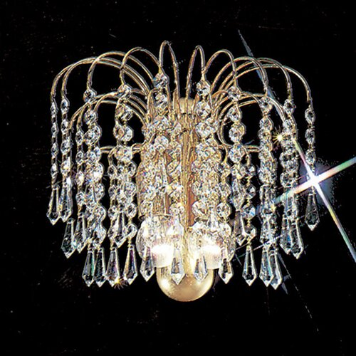 Classic Lighting Sprays 2 Light Wall Sconce