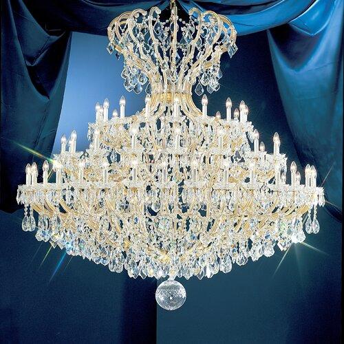 Classic Lighting Maria Thersea 72 Light Chandelier