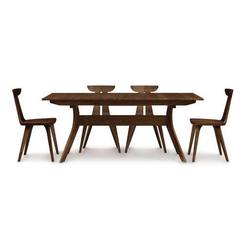 "Copeland Furniture Audrey 66 - 90""W Extension Dining Table"