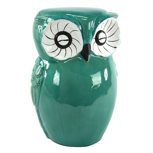 Owl Garden Stool