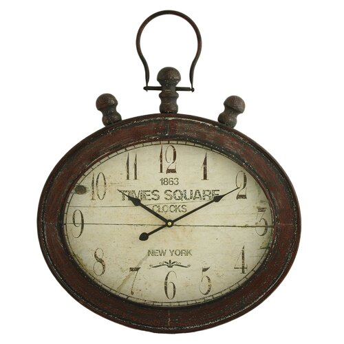 Remington Oval Wall Clock