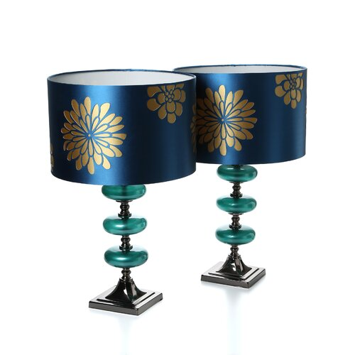 """Aspire Vernon 23"""" H Table Lamp with Drum Shade"""