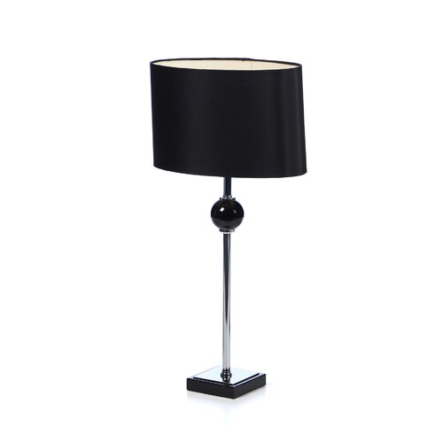 "Aspire Merlin 27"" H Table Lamp with Oval Shade"