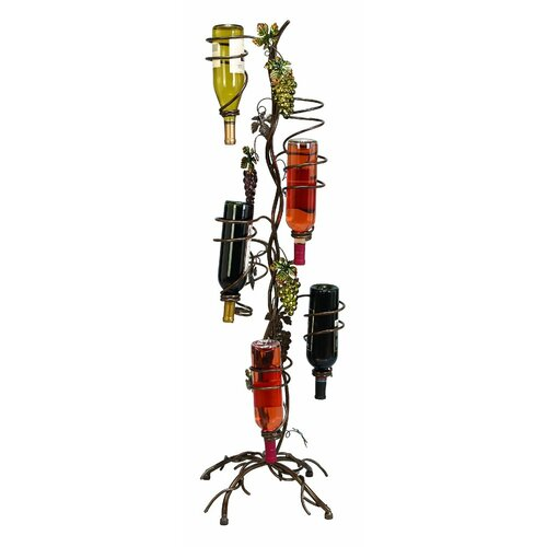 Standing 5 Bottle Wine Rack