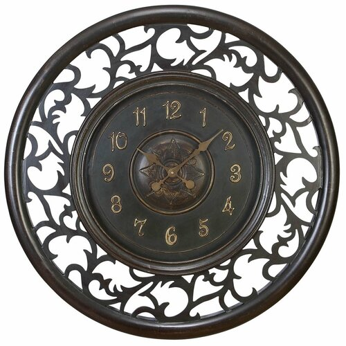 "Aspire Oversized 36"" Medieval Wall Clock"
