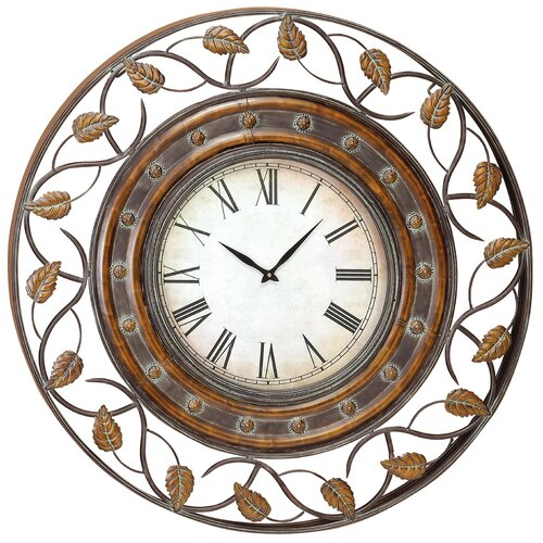 Aspire Oversized 36 Decorative Wall Clock Reviews Wayfair